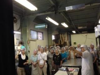 【工場見学】関川村食生活改善推進員協議会の皆さま