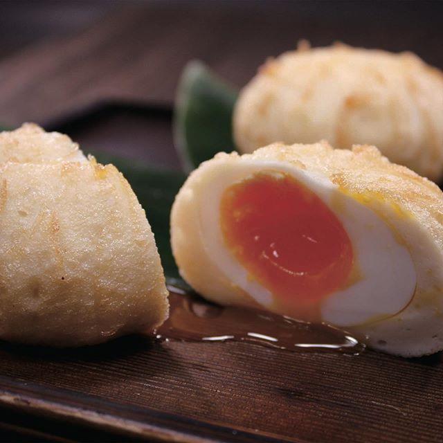 煮玉子しんじょう #新潟に来るんだすけこれ食ってけ #煮玉子しんじょう #かまぼこ #竹徳かまぼこ #Repost